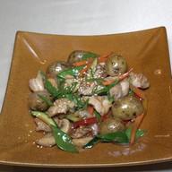 Курица ВОК с овощным гарниром Фото