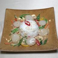 Гребешки ВОК с овощами и рисом Фото