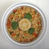 Тяхан (рис с овощами) Фото