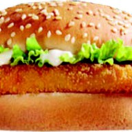 Чикен фрисбургер Фото