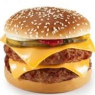 Даблчизбургер Фото