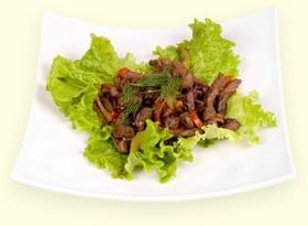 Острая говядина с овощами - Фото