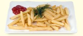 Картофель фри + соус - Фото