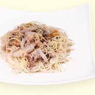 Фетучини с морепродуктами Фото