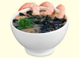 Суп с креветкой - Фото