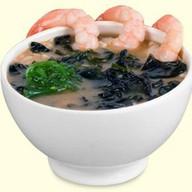 Суп с креветкой Фото
