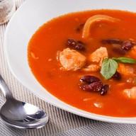Суп Куриный с фасолью Фото