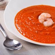 Суп томатный с креветками Фото