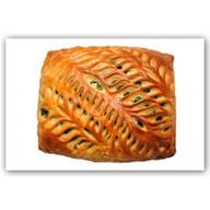 Пирог с курицей и овощами Фото