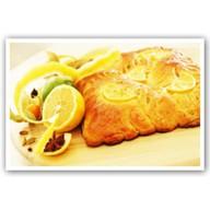 Постный с лимоном и медом Фото