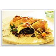 Постный с маком и грецким орехом Фото
