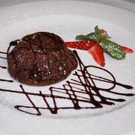 Шоколадный флан Фото