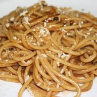 Спагетти с сыром пекорино Фото