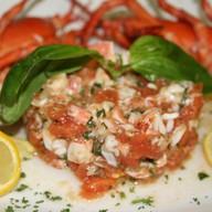 Салат из мяса омара Фото