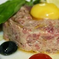 Тартар из говядины Фото