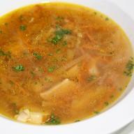Суп из белых грибов Фото