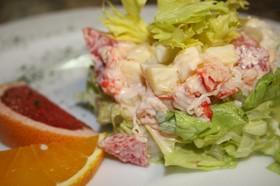 Салат из мяса краба с сельдереем - Фото