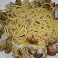Спагетти с вонголе и мидиями Фото
