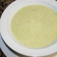 Крем-суп из брокколи с креветками Фото