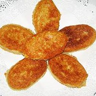Хлебцы из кукурузной муки с сыром Фото