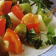 Овощной шашлык Фото