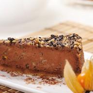 Чизкейк шоколадный с орехами Фото
