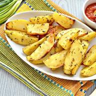 Картофель запеченный Фото