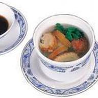Суп из утки с китайской вермишелью Фото
