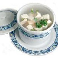 Суп из морского гребешка Фото