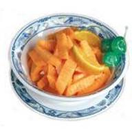 Морковь в апельсиновом соусе Фото