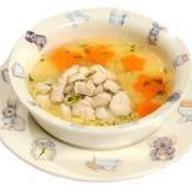 Суп -лапша куриный Фото
