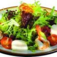 Салат с креветками Фото