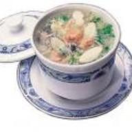 Рыбный суп с женьшенем Фото