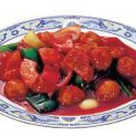Свинина в томатном соусе Фото