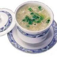 Суп из акульих плавников с курицей Фото