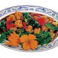 Тигровые креветки с овощами по-сычуаньск Фото