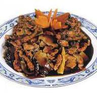 Свинина с китайскими грибами Фото