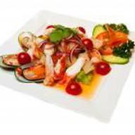 Салат из морепродуктов по-тайски Фото