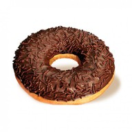Пончик шоколадный Фото