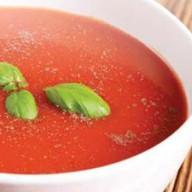 Крем-суп из сладкого перца и томатов Фото