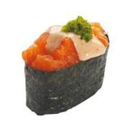 Острая суши лосось Фото