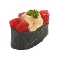 Острая суши тунец Фото