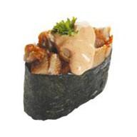 Острая суши угорь Фото