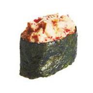Запеченная суши лосось Фото