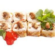 Десертный ролл ореховый Фото