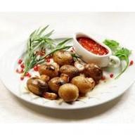 Шашлык из молодого картофеля Фото