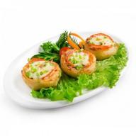 Фаршированный картофель телятина-огурцы Фото