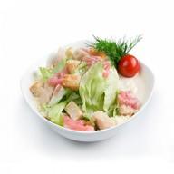Цезарь салат классический Фото