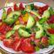 Овощной микс с заправкой на выбор Фото