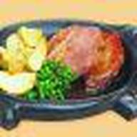Стэйк из свинины на гриле Фото